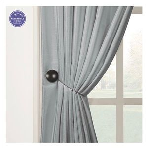 Better Homes And Gardens Accents - BH&G 6 Bronzed Magnetic Holdbacks For Curtains